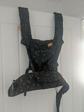 Tula Half Buckle Baby sling Carrier black EUC used once