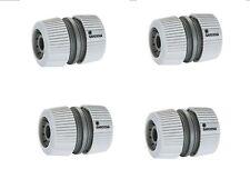 4 Stück GARDENA Reparator 932 Schlauchverbinder reparieren für13mm-15mm