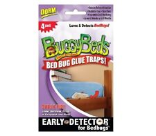 New listing Buggy Beds Dorm Bed Bug Glue Traps Sealed Early Detector