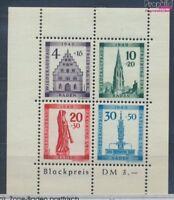 Franz. Zone-Baden Block1A postfrisch 1949 Freiburg (7578491