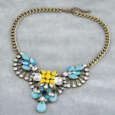 Modeschmuck-Halsketten & -Anhänger aus Kristall und Metall-Legierung
