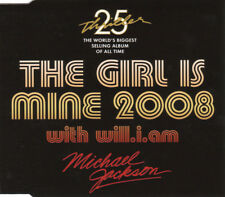 Michael Jackson - THE GIRL IS MINE 2008 - Maxi CD Single (with will.i.am)