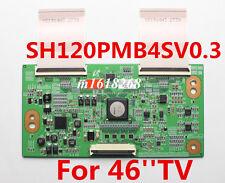 T-Con Board SH120PMB4SV0.3 Samsung  UN46D6900WFXZA with FLEX Ribbon cables 2739