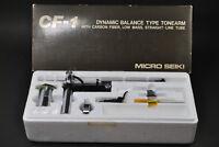 MICRO CF-1 Carbon Fiber Low-Mass Straight Dynamic Blance Tonearm / MICRO SEIKI