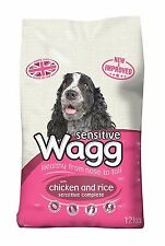 Wagg Sensitive Dry Mix Healthy Dog Food Chicken And Rice Pet 12kg