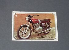 N°299 YAMAHA XS 400 JAPON JAPAN NIPPON ALBUM PANINI MOTO SPORT 1979