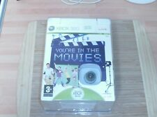 You're in the Movies Includes Xbox LIVE Vision Camera NEW&SEALED  xbox 360 pal