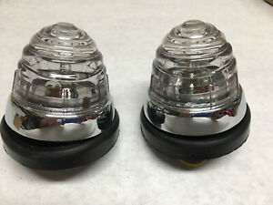 Front clear turn signal light fits mercedes 190sl 190 sl w121 ponton 356 Porsche
