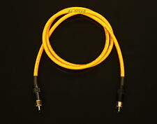 Van Damme Orange Ultra Subwoofer Cable 4 Metre Length