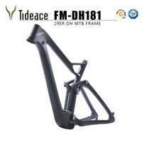 29er T800 Carbon Fiber Full Suspension Mountain Bike Frames 15.5/17.5/19 Tapered