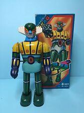 "Vintage 70s Takara Tin toys "" JEEG GEAG "" bullmark masudaya popy"