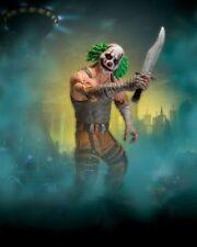 "DC Comics Batman Arkham City Series 3 7"" Clown Thug B Action Figure with Knife"