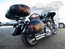 Tsukayu Easy Strong Hardbags For Honda VTX 1800C (Black)