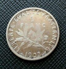 France 1 Franc 1903 Semeuse Argent   [2271]