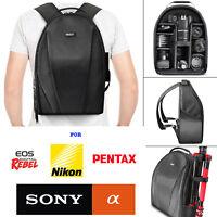 VIVITAR CAMERA BACKPACK BAG FITS DSLR & LENSES - Padded Case for Canon EOS REBEL