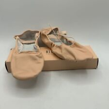 Bloch Womens Ballet Shoes Pink Leather Soft Sole Mary Jane Strap Dance 6
