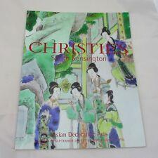 Christie's Auction Catalogue - Asian Decorative Arts 2003