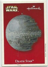 Star Wars Death Star Hallmark Keepsake ornament collector card (2002)
