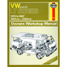 VW LT Haynes Manual 1976-87 Vans/Trucks 2.0 2.4 Petrol Workshop