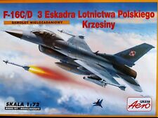 F-16 C/D of 3 TACTICAL SQUADRON POLISH AIR FORCE , AEROLAST 00288 , SCALE 1/72