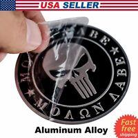 3D Metal Dont Tread On Me Sticker Molon Labe Decal Emblem 2nd Amendment NRA