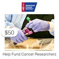 $50 Charitable Donation For: Help Fund Cancer Researchers