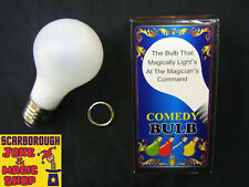 More details for magic light bulb ~ light up ~ spooky family uncle trick comedy prop ~ halloween