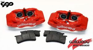 1997-2013 Chevy Corvette C5 C6 SLC56 Wilwood Brake Caliper Set + Pads