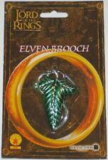 The Lord of the Rings Frodo Elven Brooch Leaf Clasp, New Mint On Card