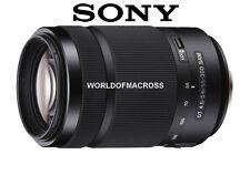 Sony DT 55-300mm F4.5-5.6 SAM Lens w/Hood SAL55300 NEW FREE SHIPPING INSURANCE
