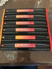 NYX Ombre Lip Duo Set Of 6 Lipsticks Peaches And Cream