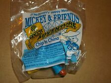 1993 McDONALD'S KIDS HAPPY MEAL TOY-EPCOT ADVENTURE-CHIP IN CHINA! NEW!