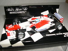 Minichamps Panasonic toyota TF102 M. Salo  ref 400 020024