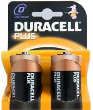 DURACELL PLUS D SIZE (MN1300) BATTERIES PACK OF 2