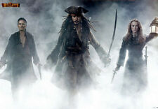 PIRATES OF THE CARIBBEAN AT WORLD'S END Original France 1SH 27x40 Poster NEW