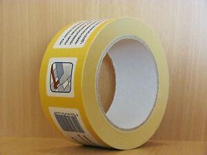 6 Rollen doppelseitig klebendes Teppichband 50 mm x 25 m Verlegeband