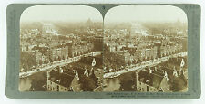 Underwood Stereoview of the View Overlooking Amsterdam, Holland Early 1900's