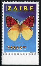 Schmetterlinge Butterflies 2000 Kongo Zaire Congo 1524 ohne Aufdruck MNH RAR / 2