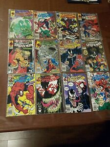 Marvel Spiderman 12 Comic Lot