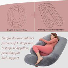 Schwangerschaftskissen Stillkissen Seitenschläferkissen Schlafen Lagerungskissen