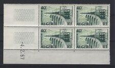 ALGERIE  YVERT  n° 340 neuf sans charnière - Bloc de 4 coin daté