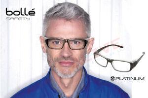 Bolle B808 Safety Glasses Spectacles Clear Lens Prescription Range B808BLPSI