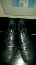 MENS AUTHNT ALEXANDER MCQUEEN MCQ DISTRESSED CALF LEATHER SHOES UK8 US9 RRP £520