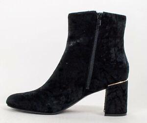 Isaac Mizrahi Live! Ladies Davina Crush Velvet Pearl Boot Size 9.5M or 10M