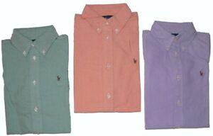 Boys Ralph Lauren Long Sleeve Plain Shirt