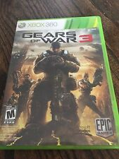 Gears Of War 3 Xbox 360 Cib Game XG2