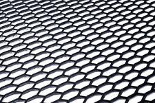 Universal Black ABS Plastic Racing Honeycomb Hex Mesh Grill Spoiler Bumper Vent