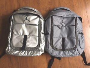 Nike Jordan Laptop Backpack Laptop Bag 9A1685 Silver or Grey NEW