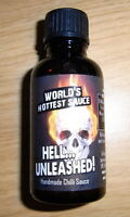 Hot-Headz! HELL Unleashed Chilli Sauce *The Hottest Sauce on eBay 5.3m Scoville*
