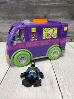 Fisher Price Imaginext The Joker Van Vehicle Car with Batman Action Figure